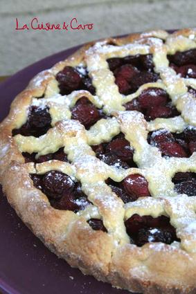 Recette de tarte aux cerises et épices
