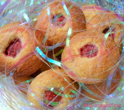 Recette mini-financiers aux framboises (biscuits)