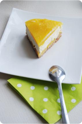 Recette de cheesecake crémeux mangue citron vert