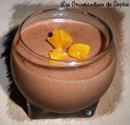 Recette de mousse au chocolat au lait à la lavande et à l'abricot