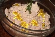 Rillettes de deux saumons, fromage frais, gingembre, herbes et citron