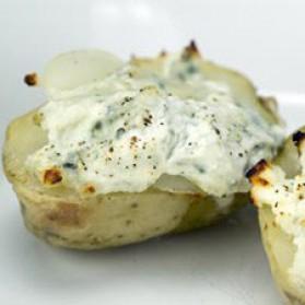 Pommes de terre gratinées au fleuron pour 4 personnes