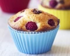 Muffins aux framboises et pépites de chocolat | cuisine az