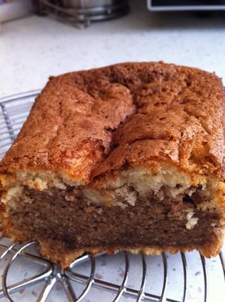 Recette de gâteau au yaourt marbré moelleux