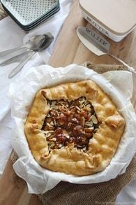 Recette de tarte aux mirabelles et amandes