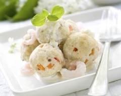 Recette boulettes de surimi au chèvre frais