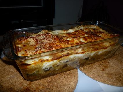 Recette de lasagnes de légumes et chèvre