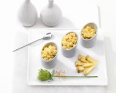 Recette oeufs brouillés à la tomme de savoie