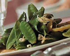 Recette salade de pois gourmands aux radis