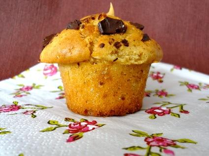 Recette de muffins beurre de cacahuètes pépites de chocolat