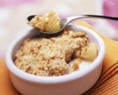 Recette crumble aux pommes, poire et spéculoos