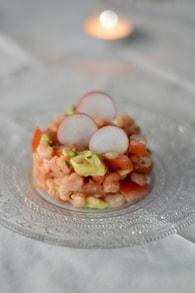 Recette de salade de crevettes façon ceviche
