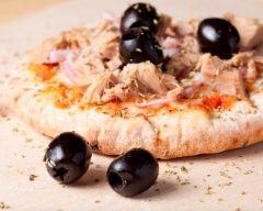 Recette pizzas au thon et aux olives