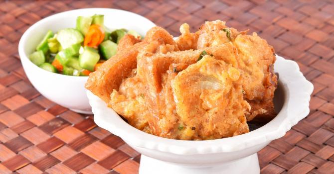 Recette de poulet au pain rassis léger à la portugaise
