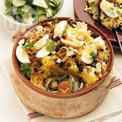 Recette biryani de légumes – toutes les recettes allrecipes