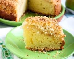 Recette apple crumble cake
