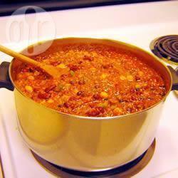 Recette chili végétarien facile – toutes les recettes allrecipes