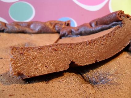 Recette de flan au chocolat noir