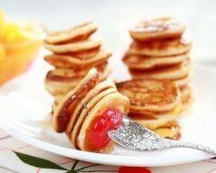 Recette mini crêpes faciles et légères à la vanille