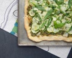 Recette pizza bianca verde