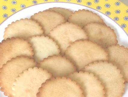 Recette de petits-beurres