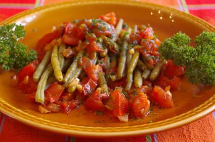 Recette de haricots verts à l'italienne