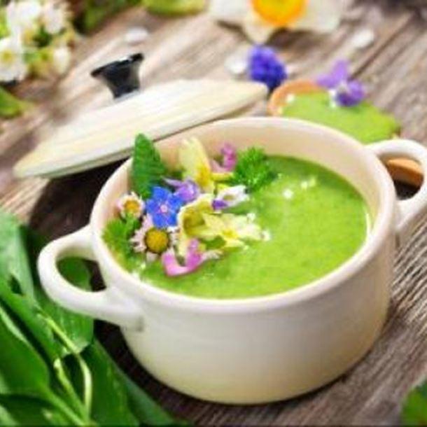 Recette soupe de courgettes et poireaux en cocotte