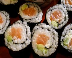 Makis au saumon et avocat | cuisine az
