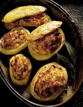Pommes de terre farcies au four pour 4 personnes