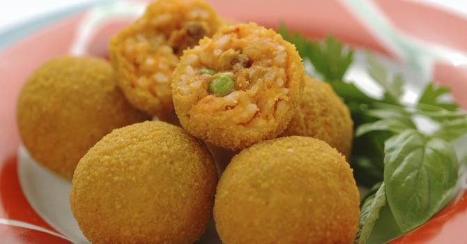 Recette de arancinis à la sicilienne sans friture