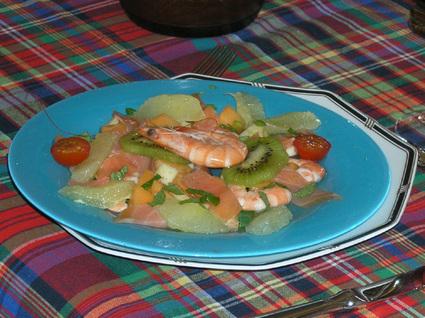 Recette de salade fraîcheur de la mer