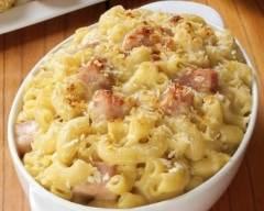 Recette gratin de macaronis
