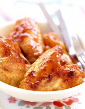 Ailes de poulet à l'ail pour 4 personnes
