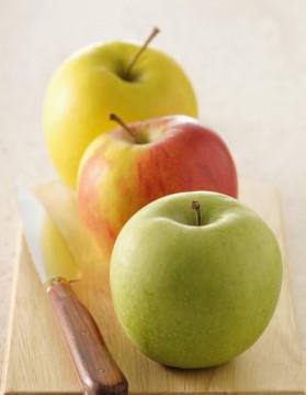 Sorbet aux pommes et calvados pour 4 personnes