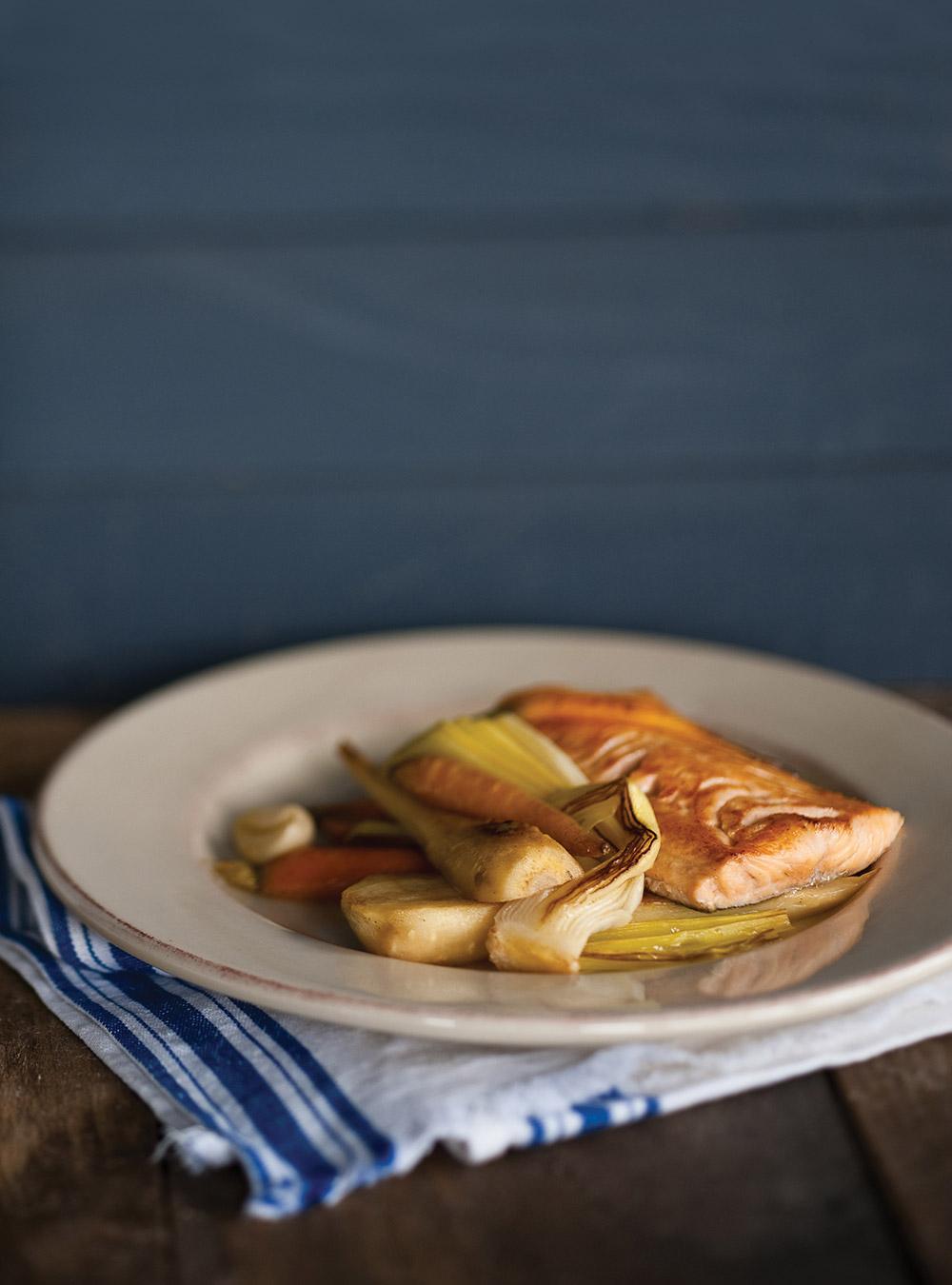 Braiser un l gume laitues fenouil recette de cuisine - Cuisiner l omble chevalier ...