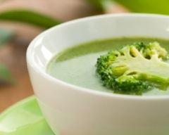 Recette soupe de brocolis