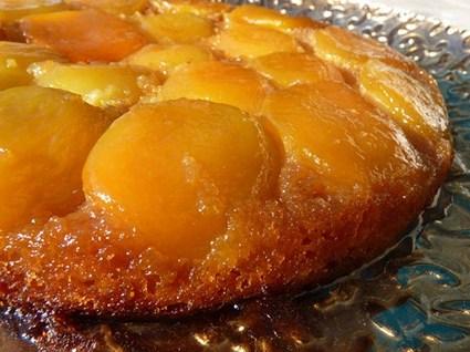 Recette de tarte renversée à l'abricot