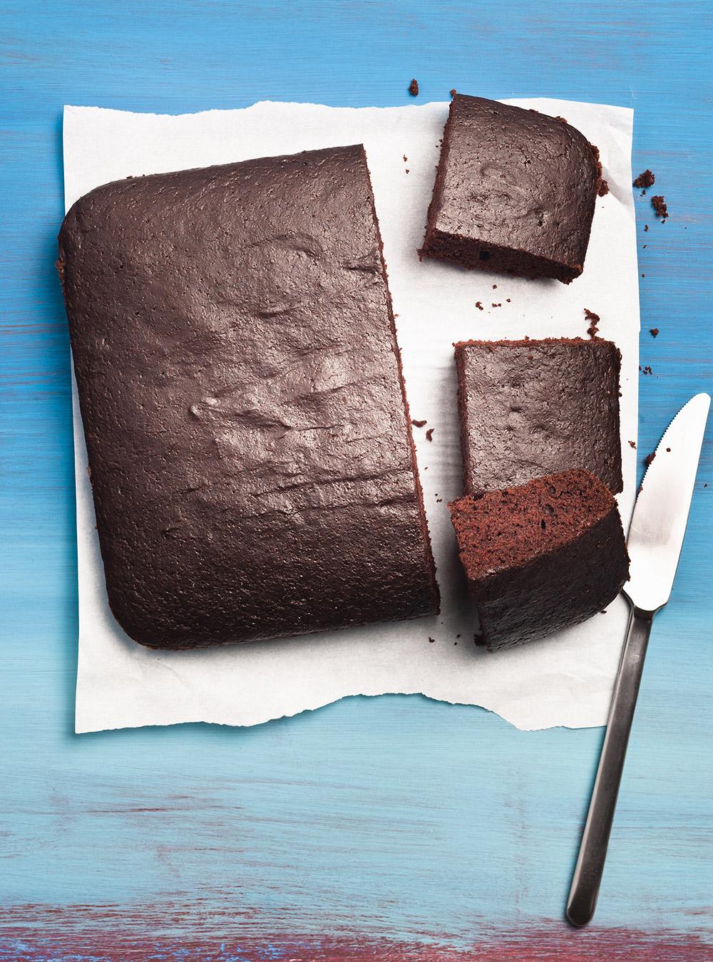 Gâteau au chocolat sans salir un bol | ricardo