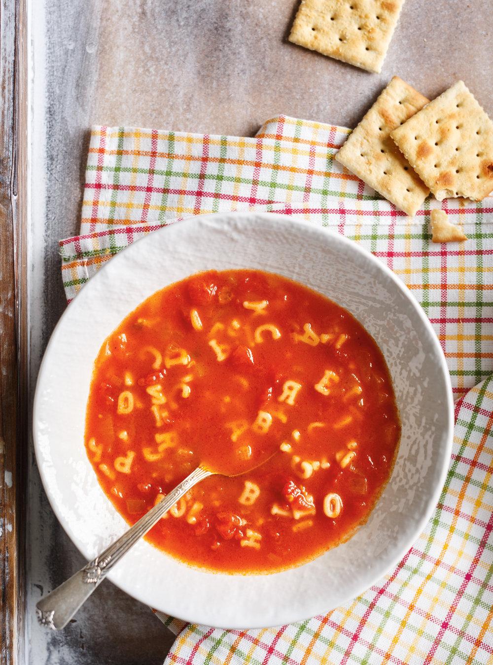 Soupe alphabet | ricardo