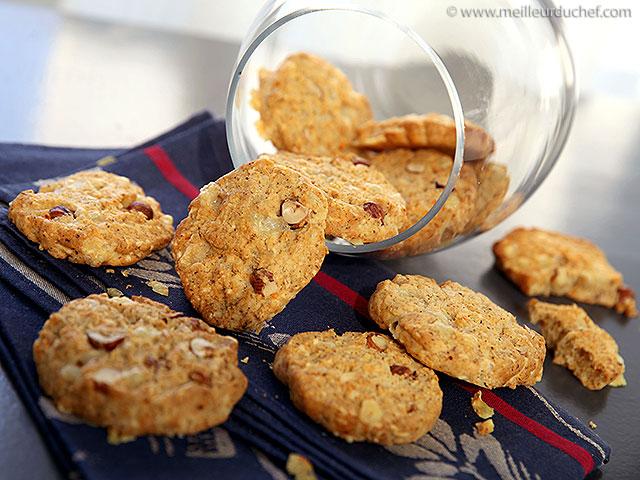 cookies sal s au comt recette de cuisine illustr e recette. Black Bedroom Furniture Sets. Home Design Ideas