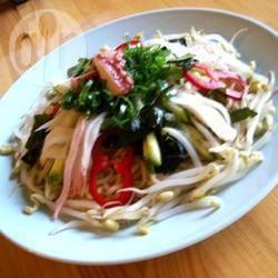 Recette salade de nouilles au crabe à la japonaise – toutes les ...