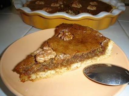 Recette de tarte aux noix et miel