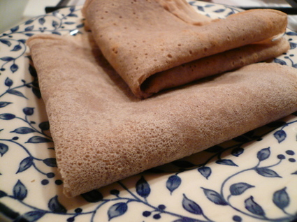 Recette de galettes de blé noir (sarrasin)