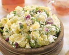 Recette salade de pommes de terre au thon facile