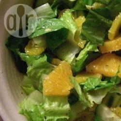 Recette salade romaine à l'orange – toutes les recettes allrecipes