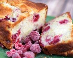 Recette cake aux framboises et yaourt de ma grand-mère