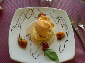 Feuilleté de brocciu au foie gras pour 1 personne