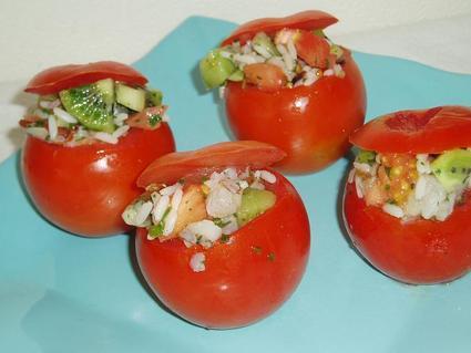 Recette de tomates farcies fraîcheur