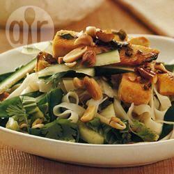 Recette salade asiatique aux nouilles et au tofu – toutes les ...