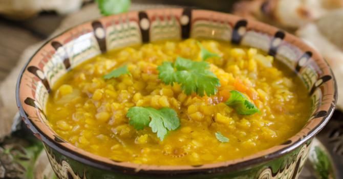 Recette de soupe de lentilles à l'indienne aux épices et lait de coco ...
